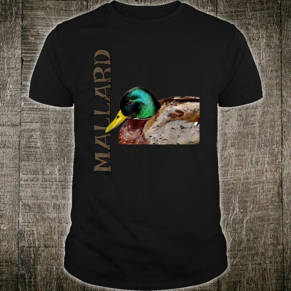 Distressed Artistic Mallard Duck Shirt