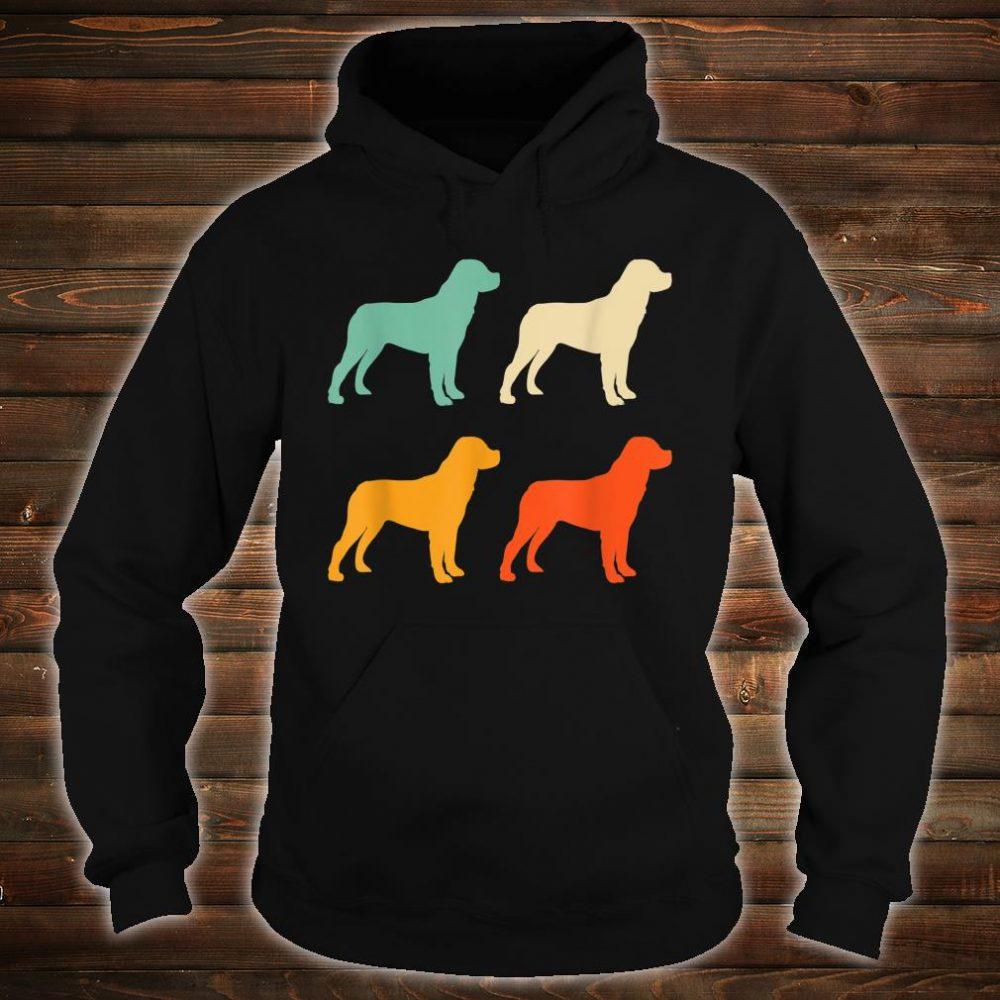 Dog Lover Retro Rottweiler Shirt hoodie