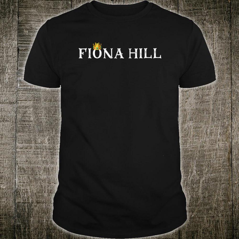 Dr Fiona Hill Impeachment Hearing Shirt