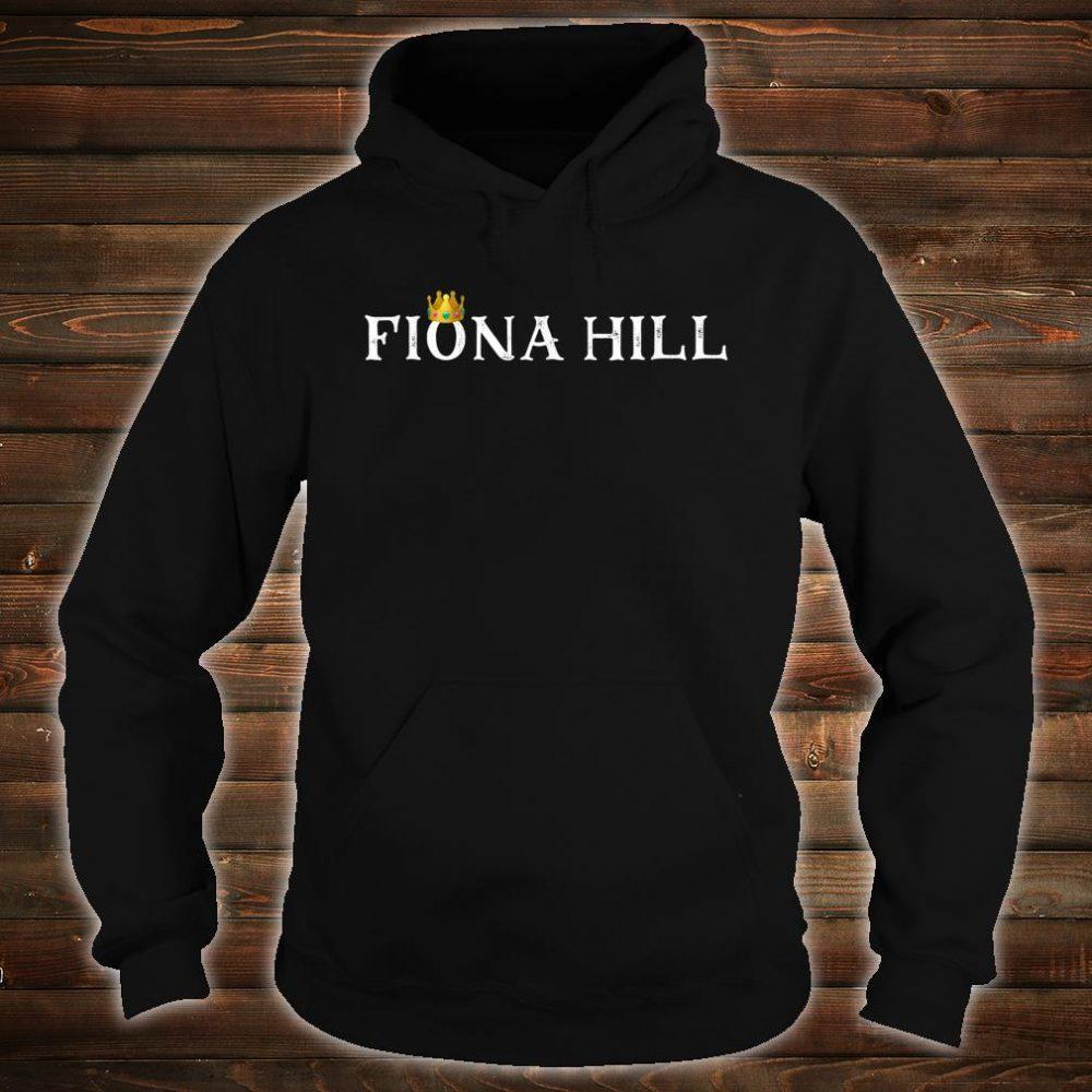 Dr Fiona Hill Impeachment Hearing Shirt hoodie