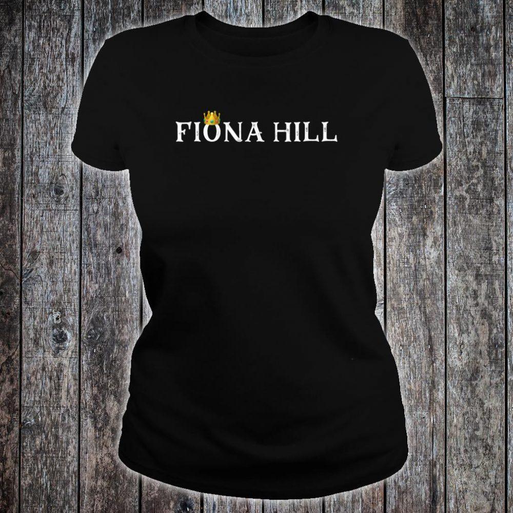 Dr Fiona Hill Impeachment Hearing Shirt ladies tee
