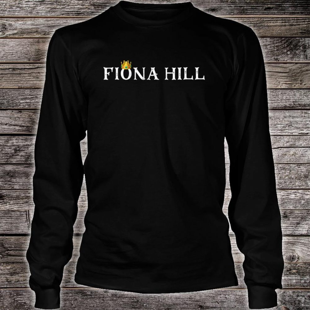 Dr Fiona Hill Impeachment Hearing Shirt long sleeved