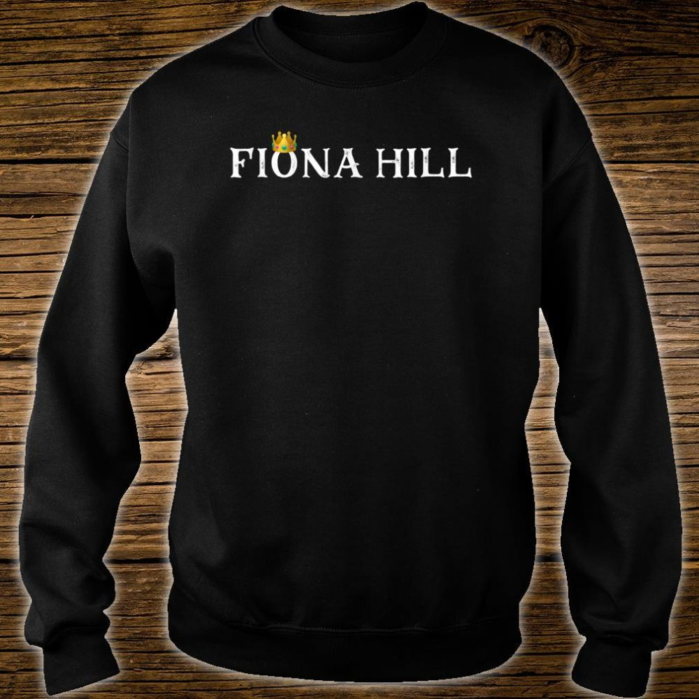 Dr Fiona Hill Impeachment Hearing Shirt sweater