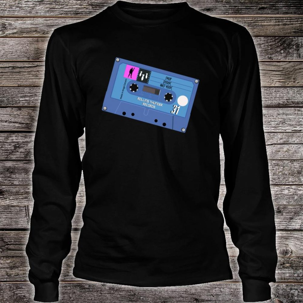 Drop Shock and Rock Mixtape Shirt long sleeved