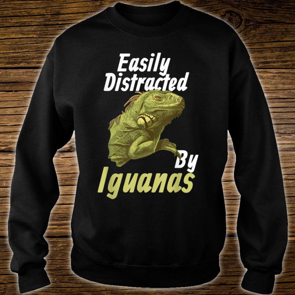 Easily Distracted Iguana Shirt sweater