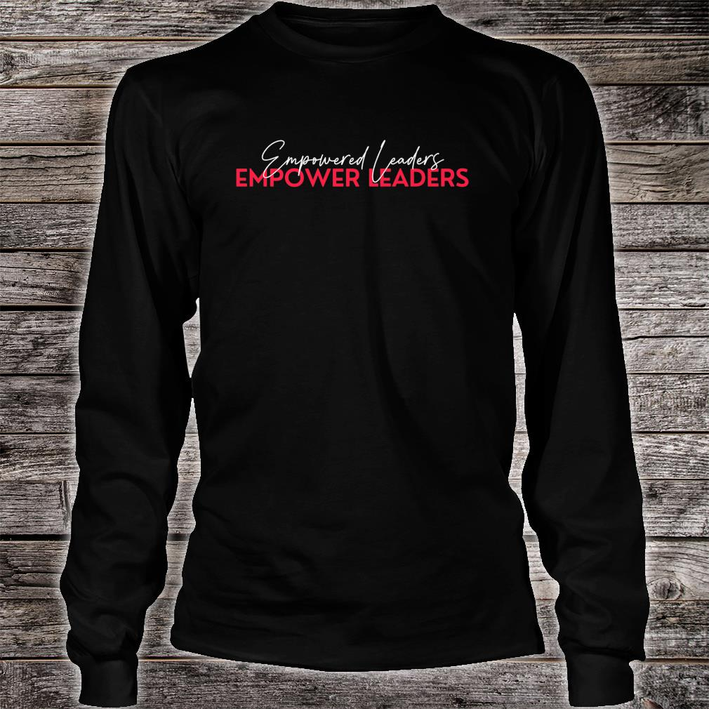 Empower Leaders 1.0 Shirt long sleeved