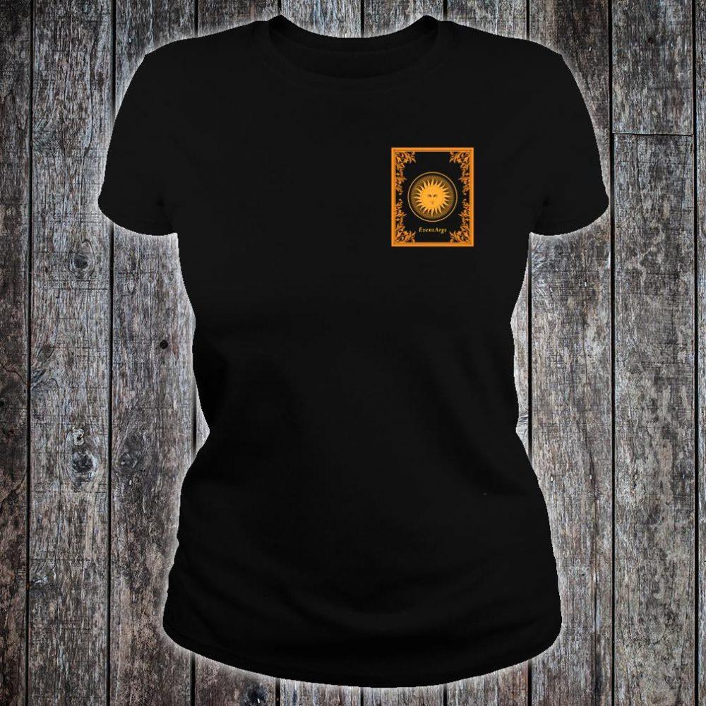EventArgs Gold Sun Tarot Shirt ladies tee