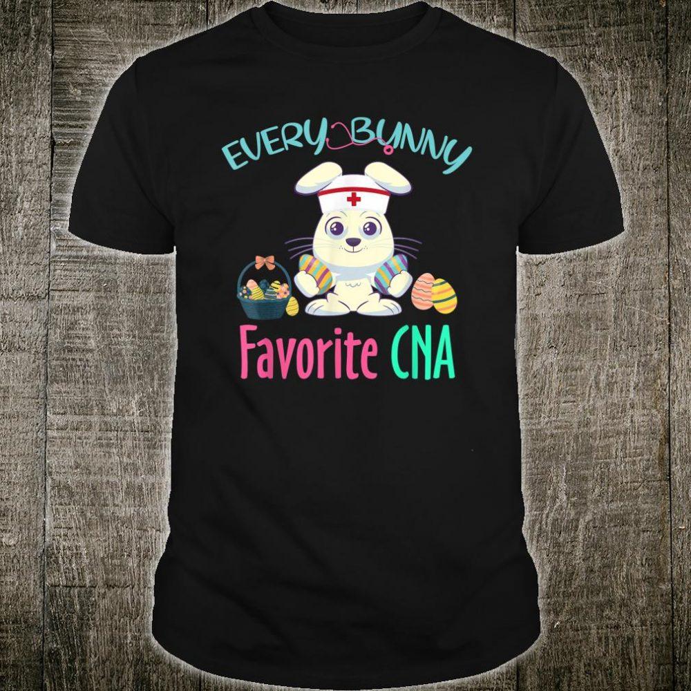 Every Bunny Favorite CNA Costume Easter Nursing Shirt