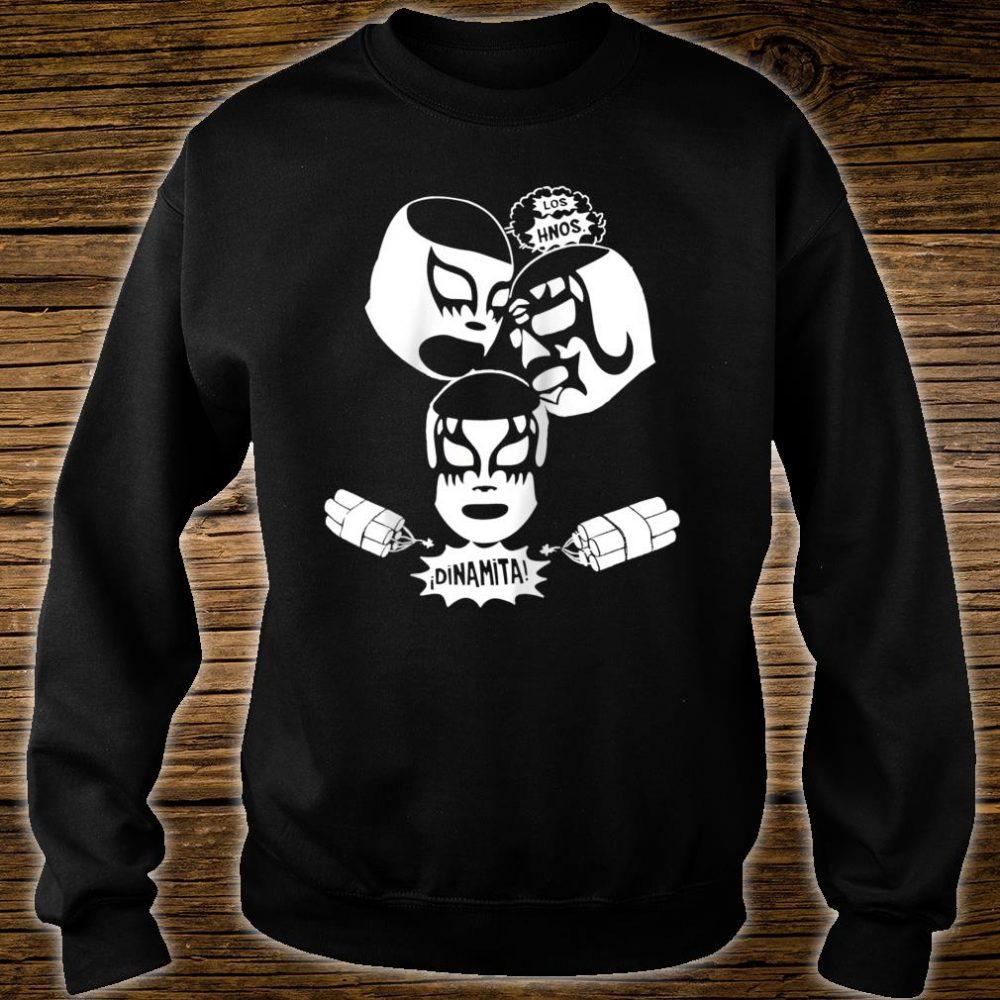 Feelink Los Hermanos Dinamita Mexican Lucha Libre Wrestling Shirt sweater