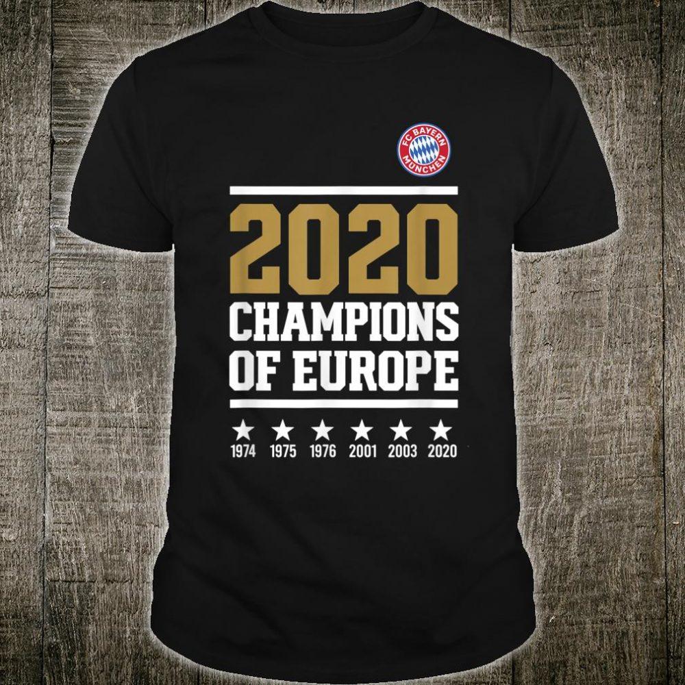 Final Champions League 2020 Shirt