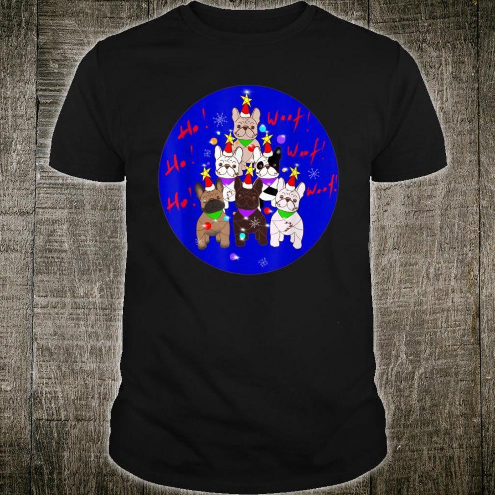 French Bulldogs Christmas Tree Shirt