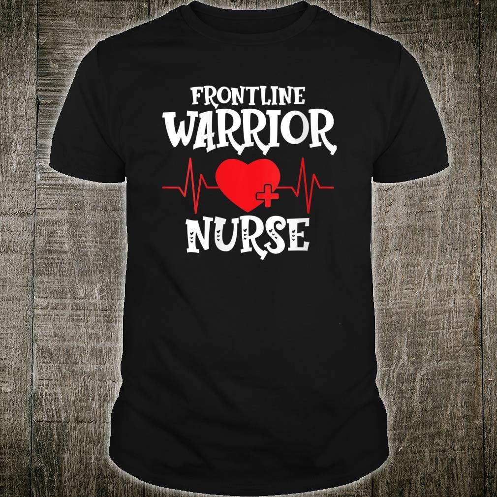 Frontline Warrior Nurse Shirt