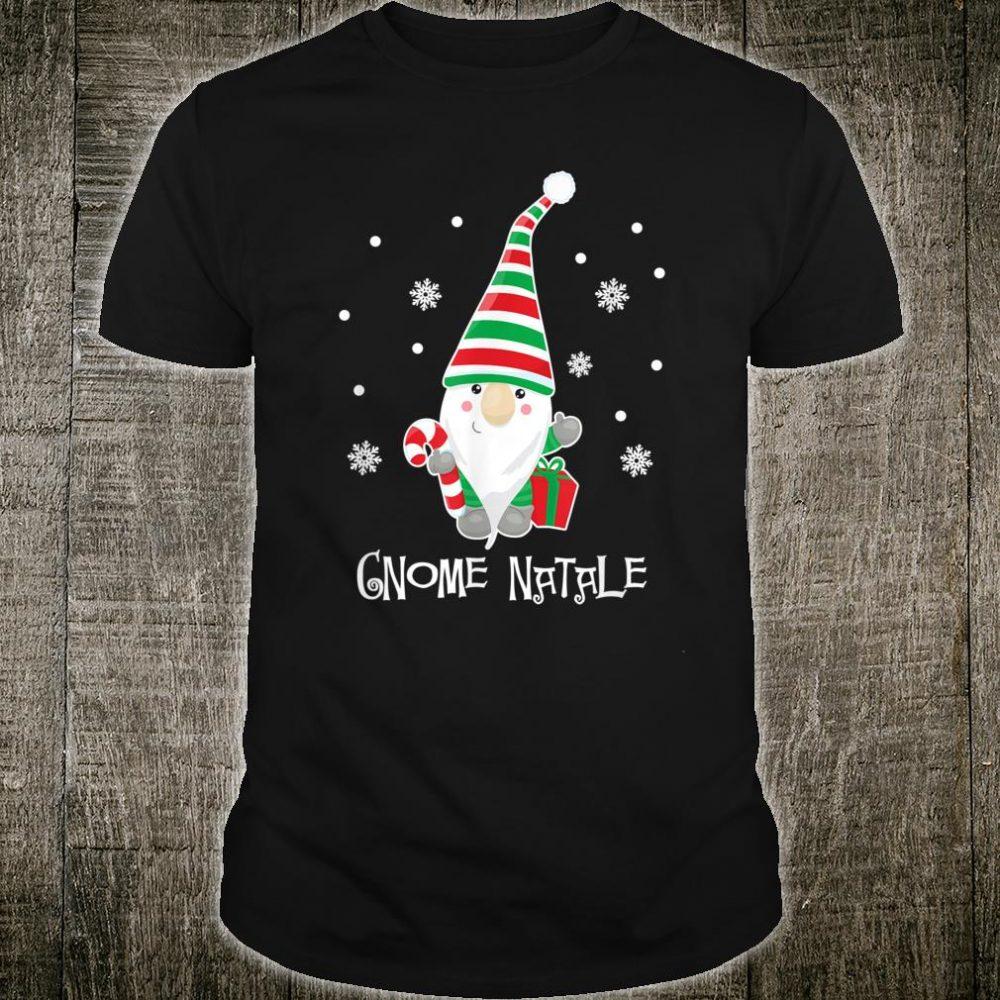 Garden Gnome Natale Buon Merry Christmas Shirt