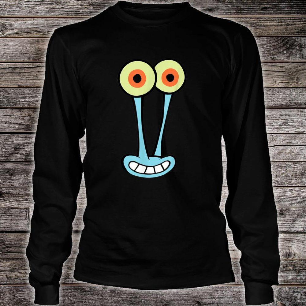 Gary Halloween Cartoon Face Shirt long sleeved