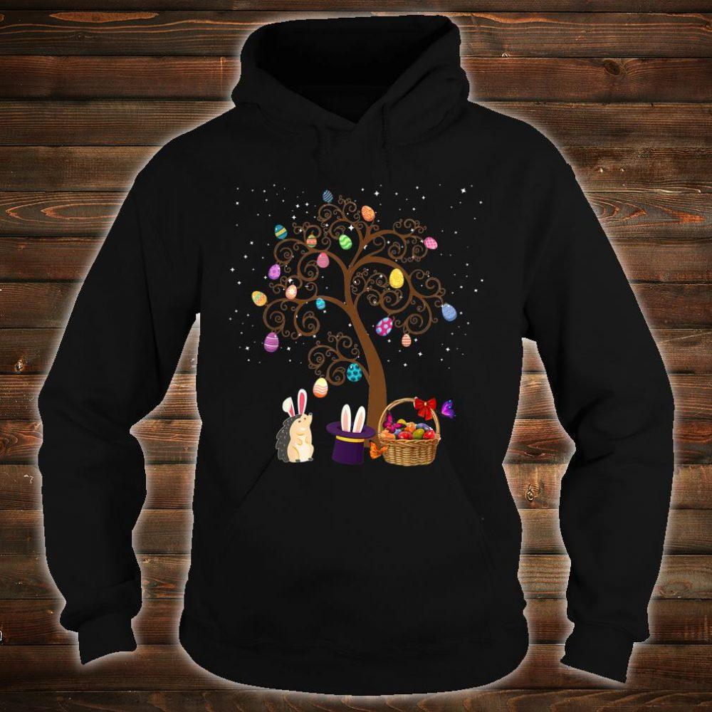 Gedgehog Animal Pet Hunting Egg Tree Bunny Easter Day Star Shirt hoodie