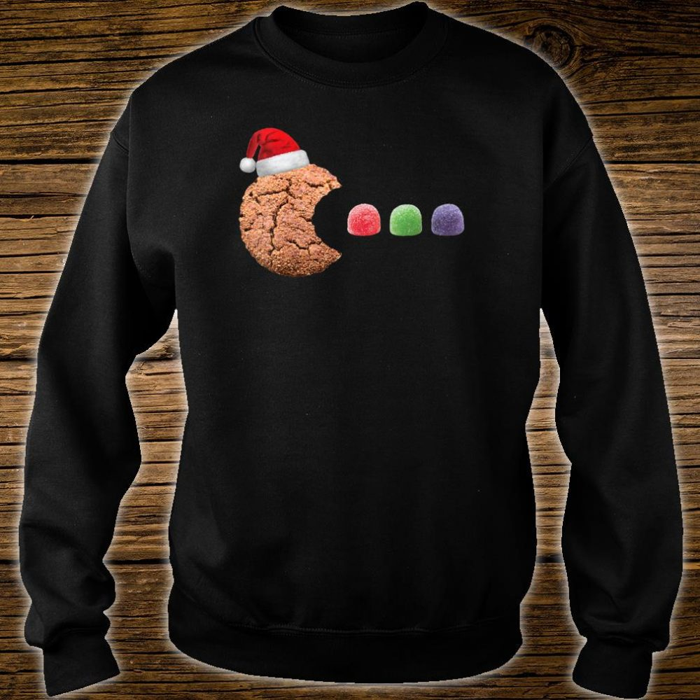 Gingerbread Cookie Eating Gumdrops Christmas Baking Shirt sweater
