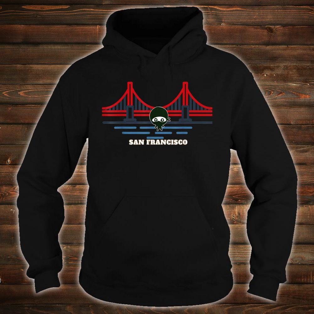 Golden Gate Bridge San Francisco NInja Shirt hoodie
