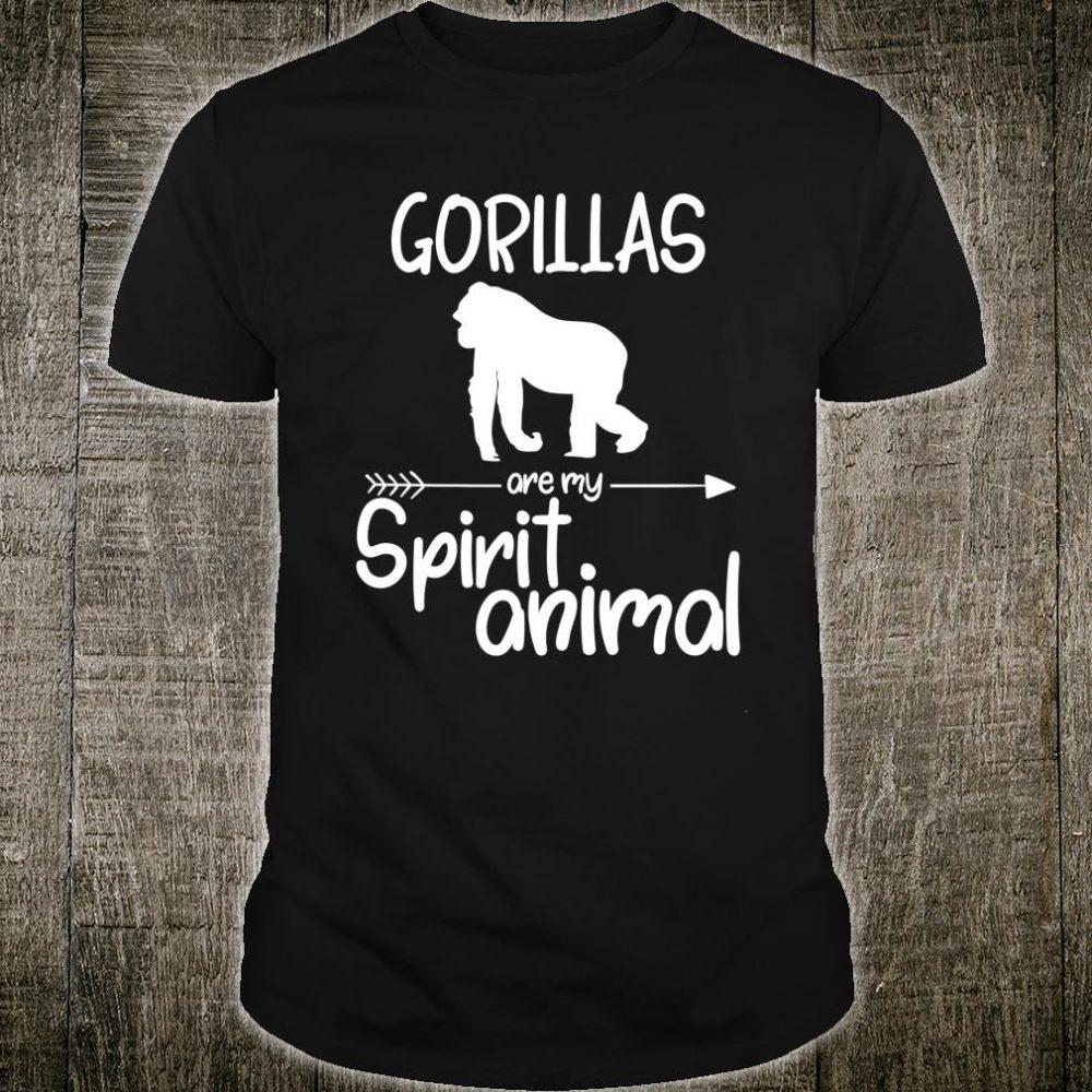 Gorillas Are My Spirit Animal Shirt
