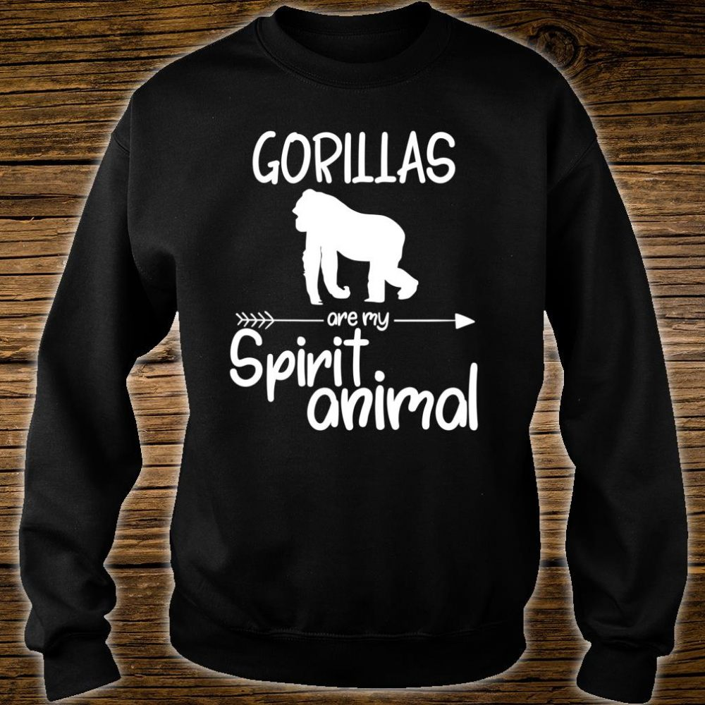 Gorillas Are My Spirit Animal Shirt sweater