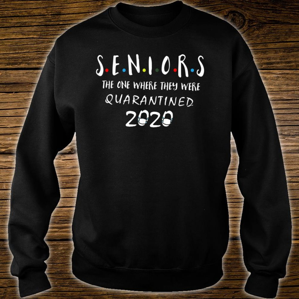 Graduation Senior Quarantine Shirt sweater