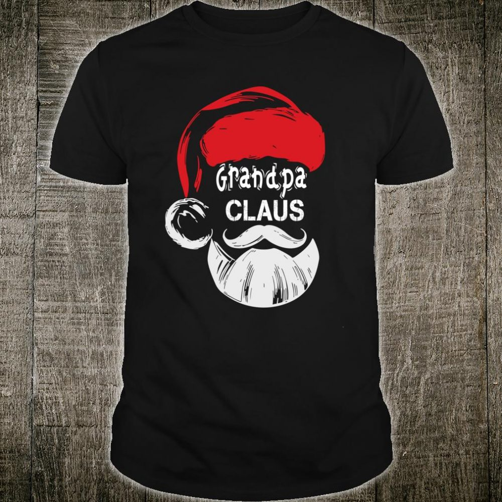 Grandpa Claus Christmas Grandpa Shirt