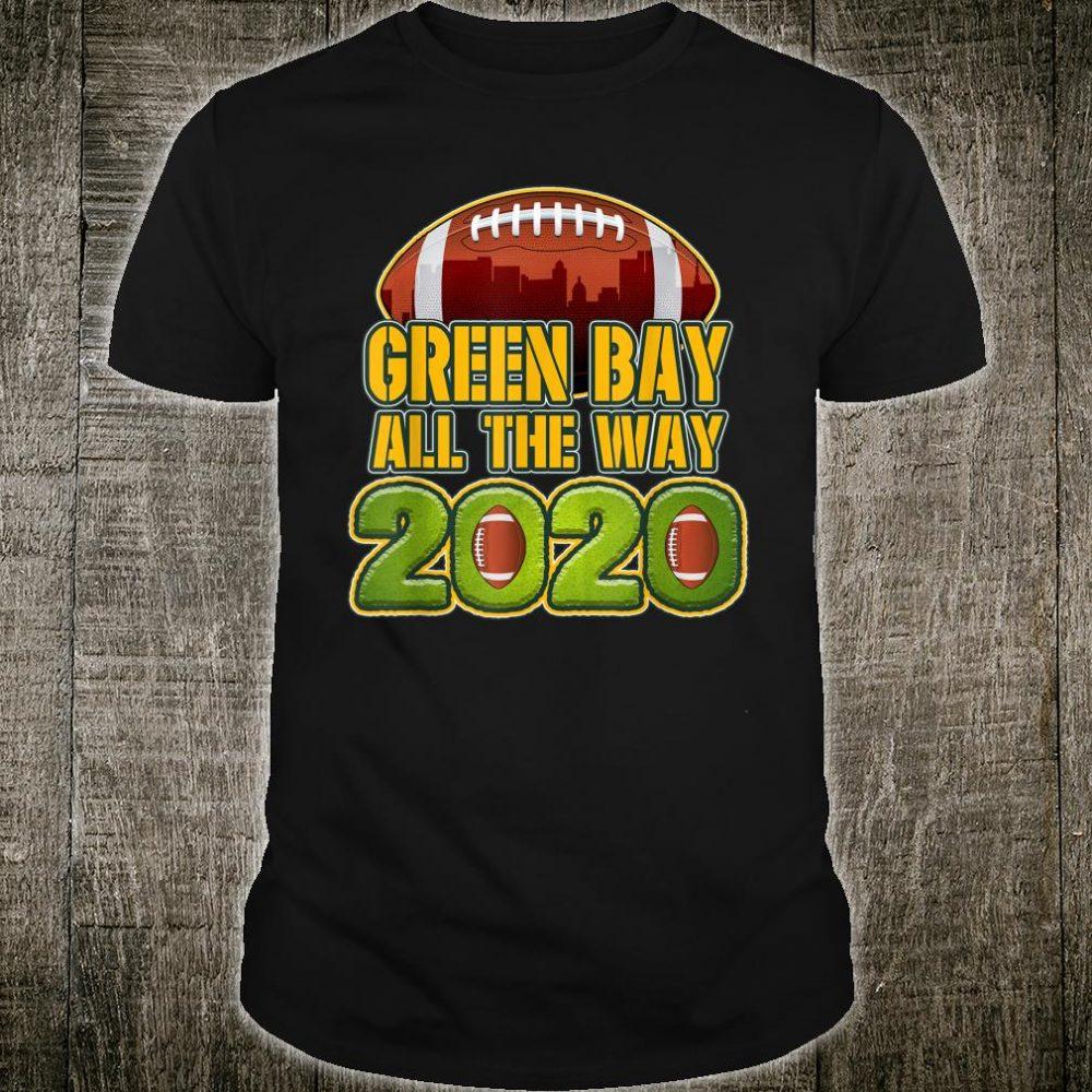 Green Bay All The way 2020 Football Shirt