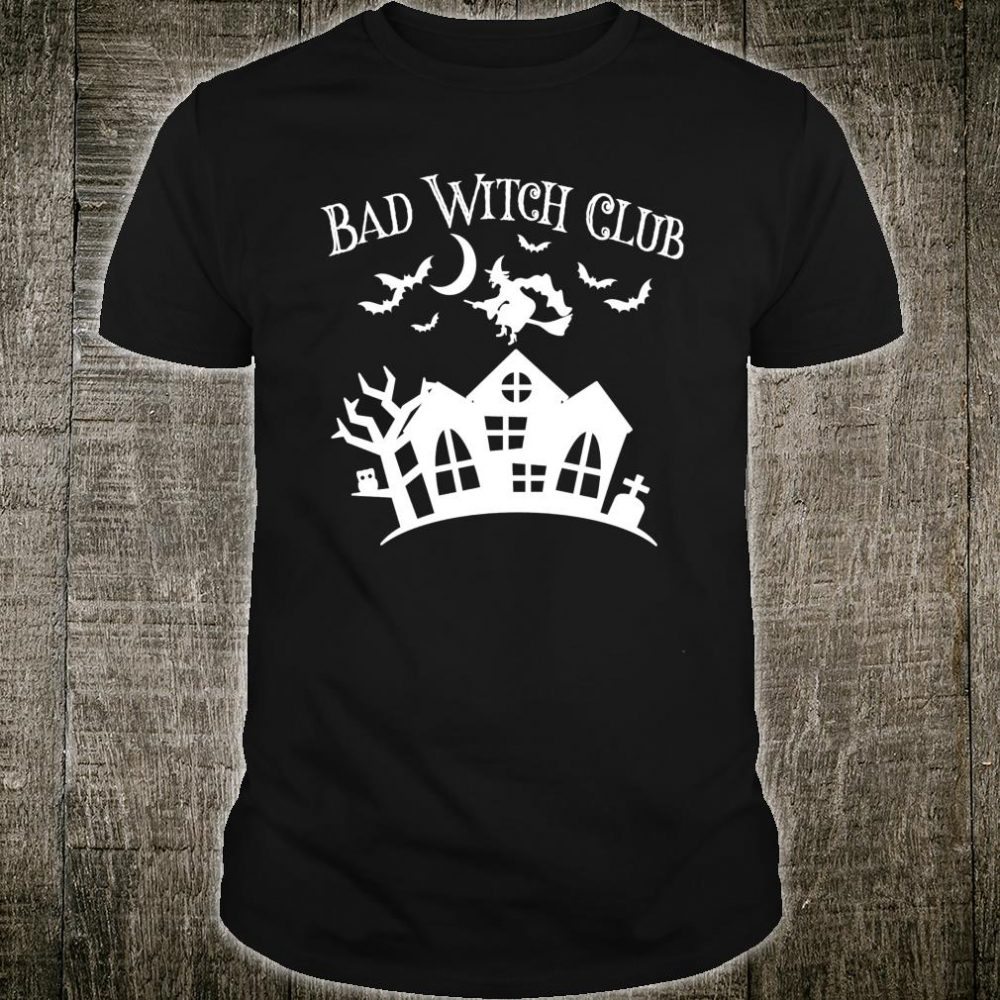 Halloween BAD WITCH CLUB Party Costume Mom Girls Shirt