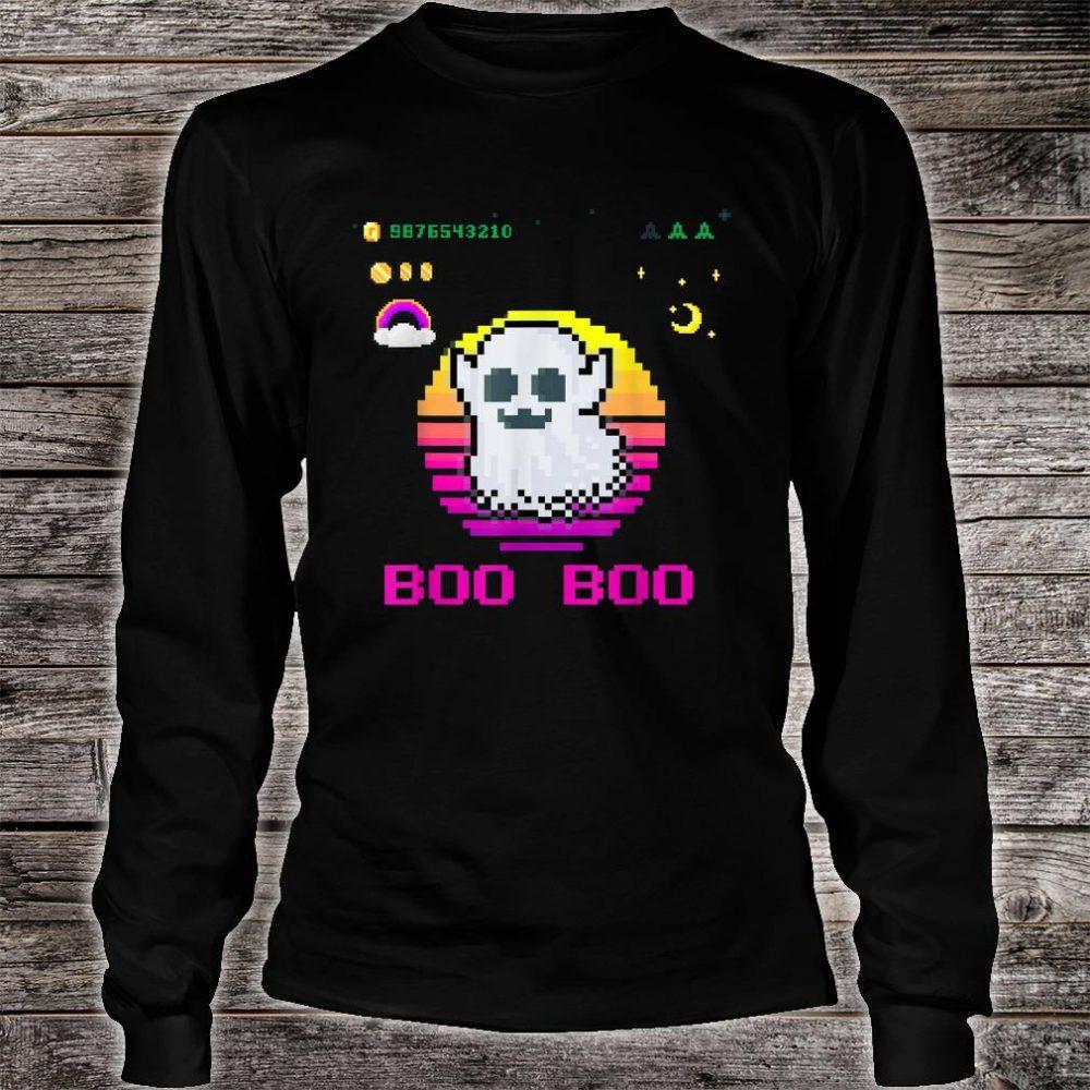 Halloween Boo Boo Design Shirt long sleeved