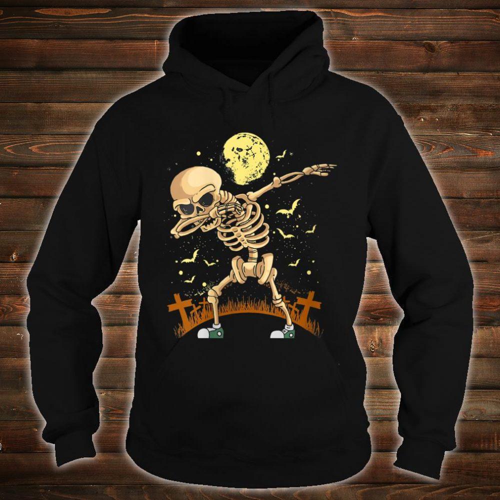 Halloween Dabbing Skeleton Costume Dab Shirt hoodie