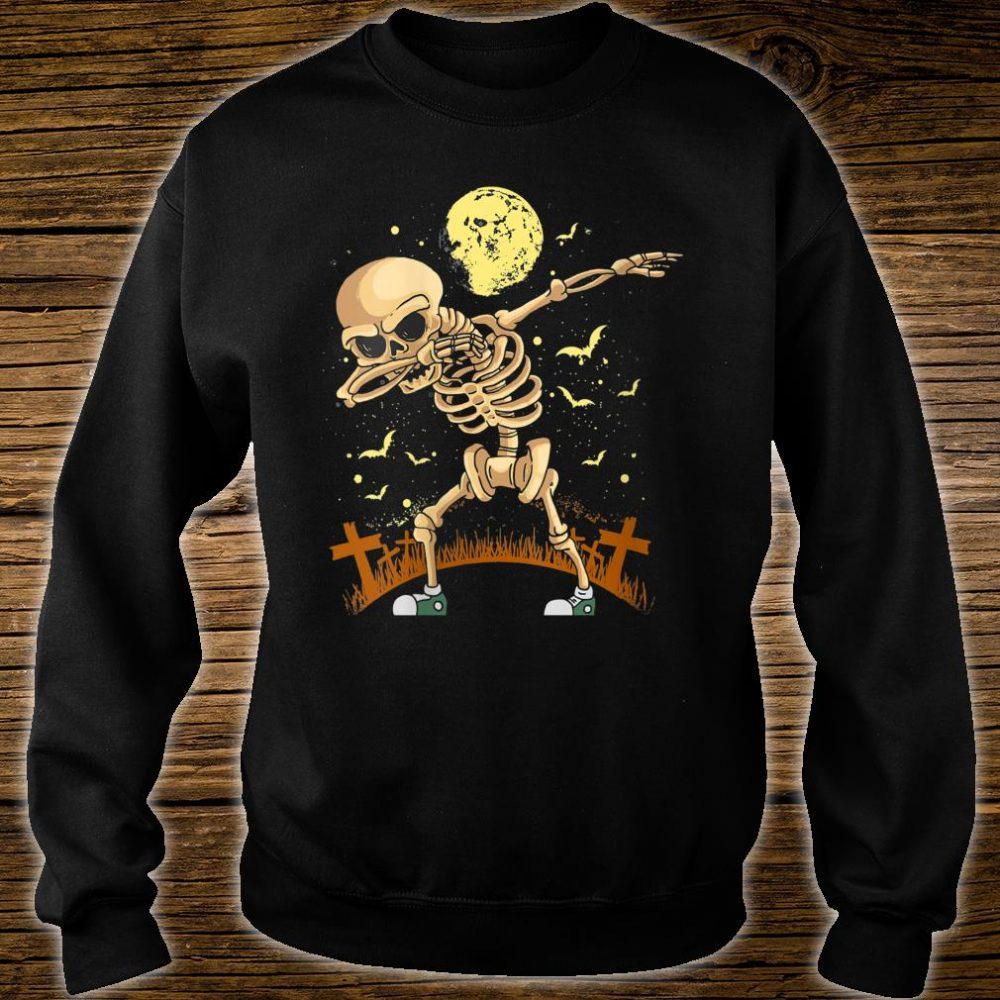Halloween Dabbing Skeleton Costume Dab Shirt sweater