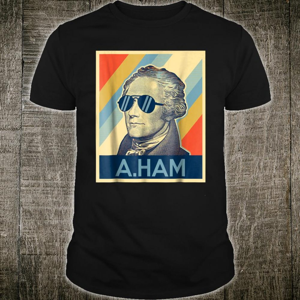 Hamilton wearing sunglasses Shirt