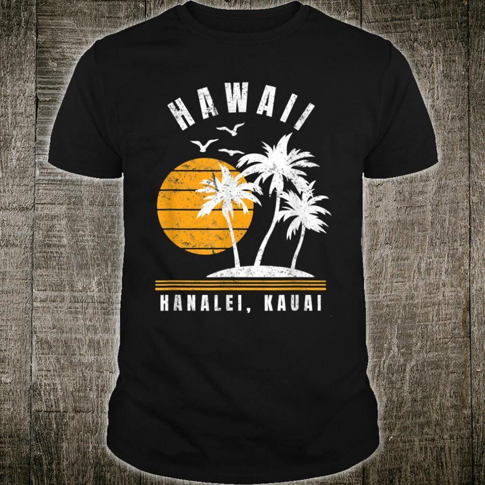 Hanalei Kauai Hawaii Beach Vacation Shirt