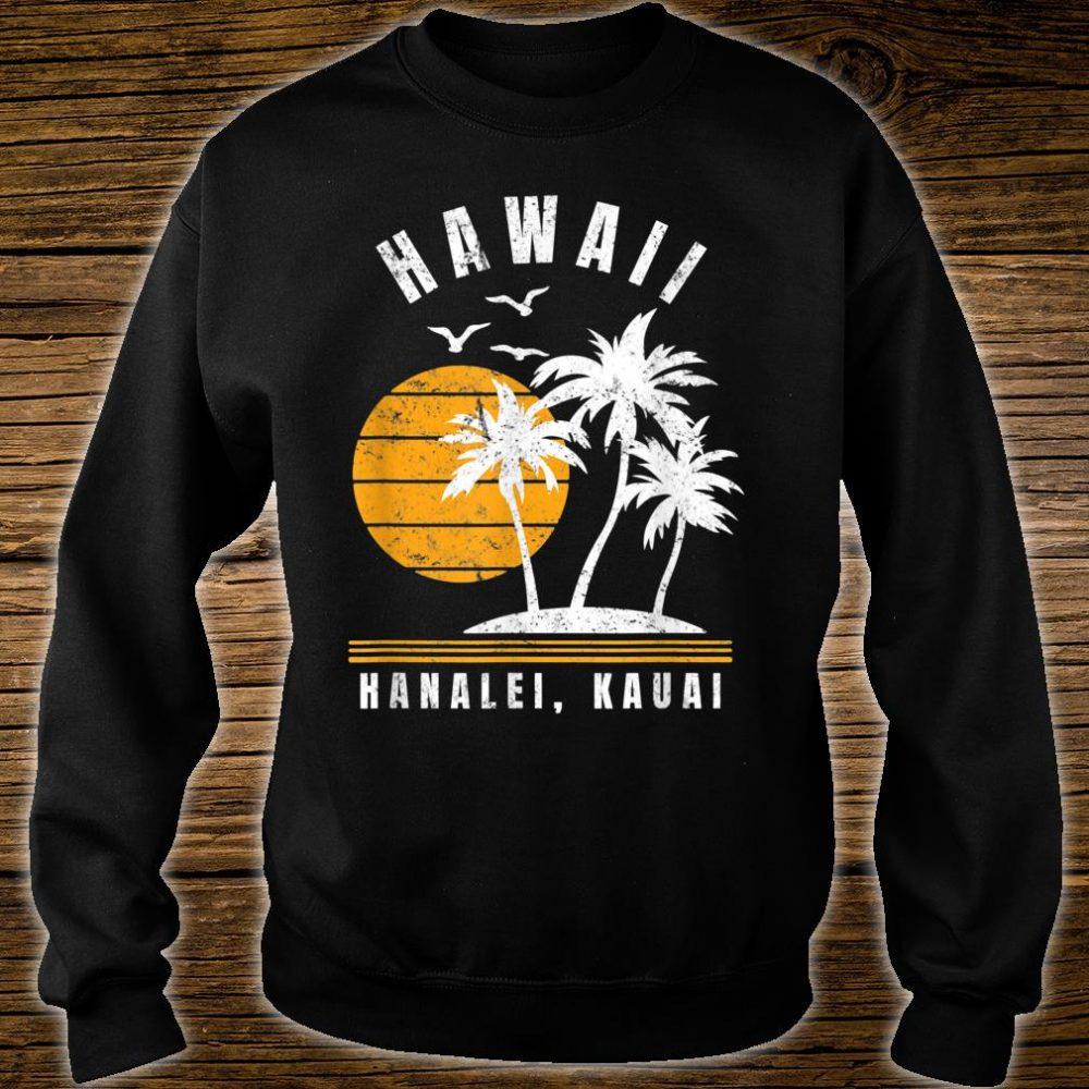 Hanalei Kauai Hawaii Beach Vacation Shirt sweater