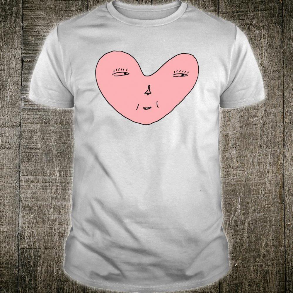 Happiness Heart Face Shirt