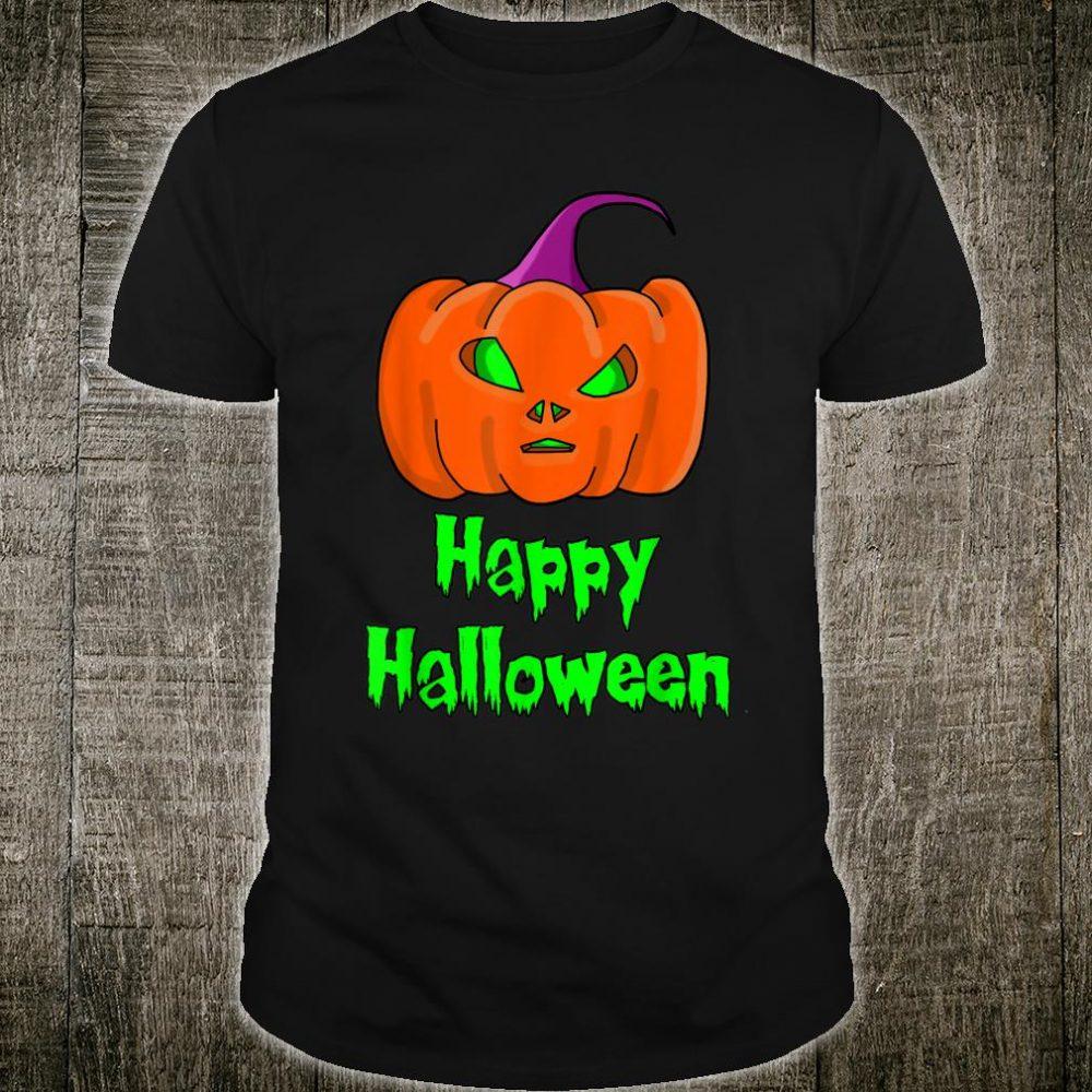 Happy Halloween Alien Pumpkin Shirt
