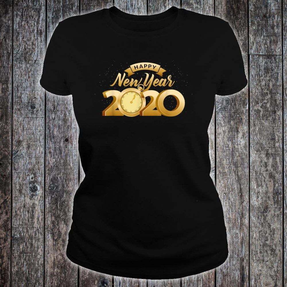 Happy New Year 2020 Cool New Years Eve Day Party Shirt ladies tee