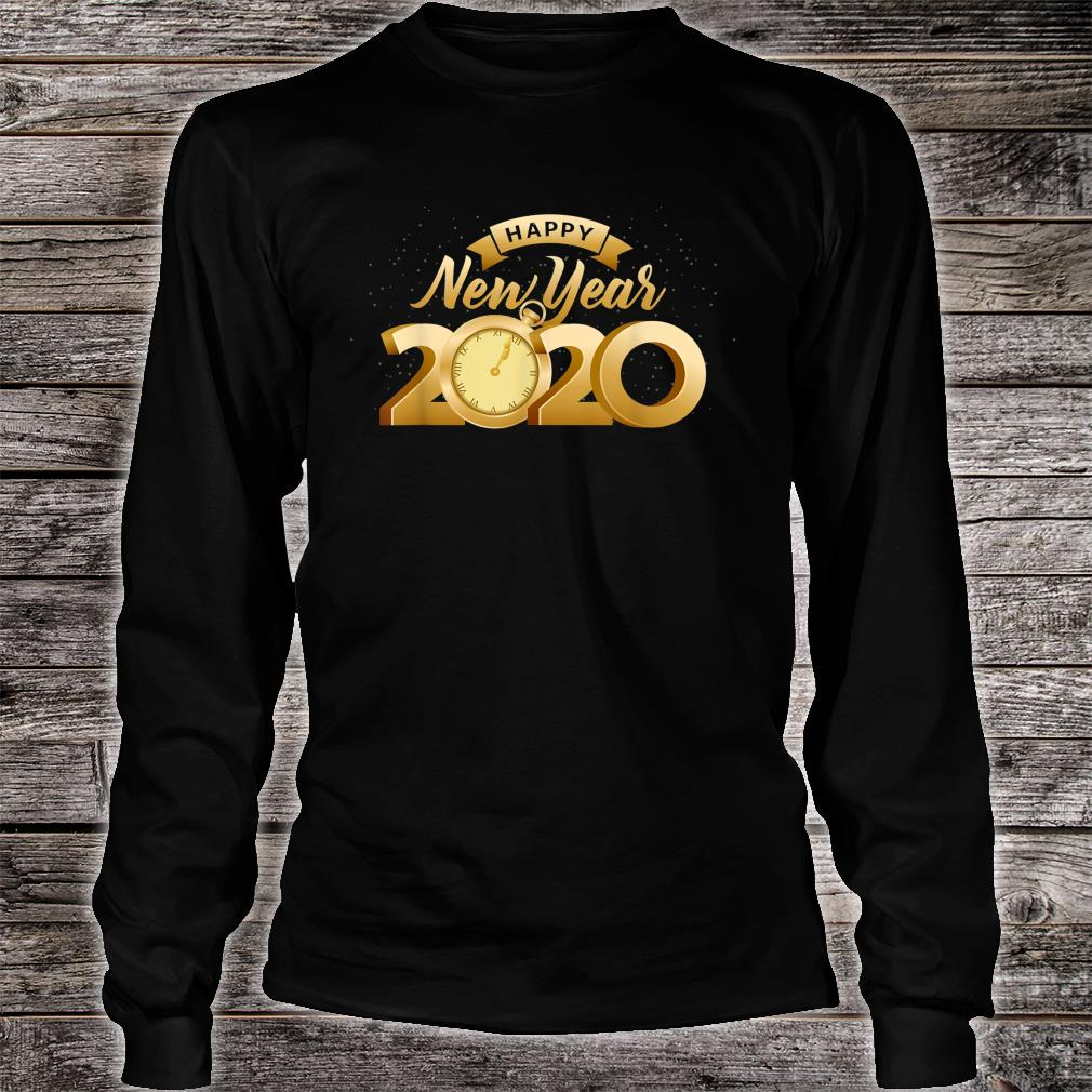 Happy New Year 2020 Cool New Years Eve Day Party Shirt long sleeved