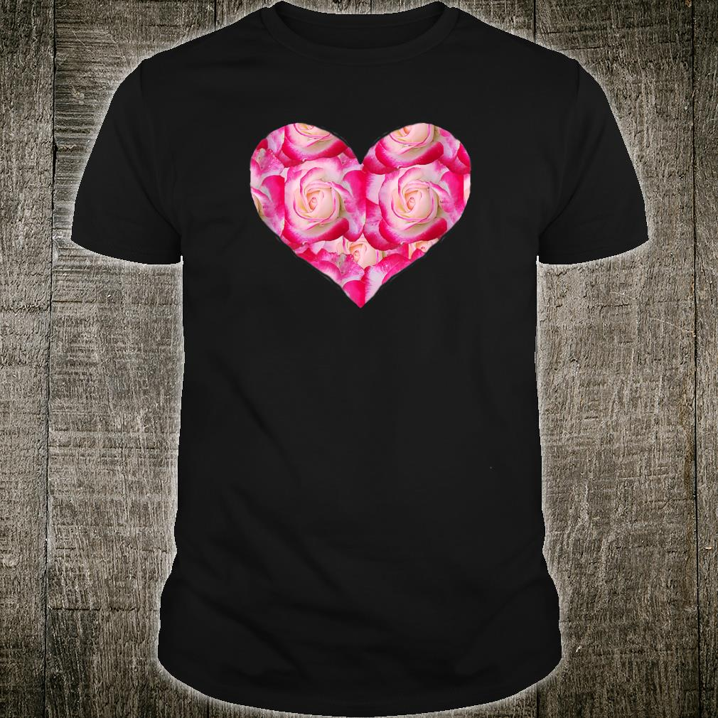 Heart Made From Roses Shirt