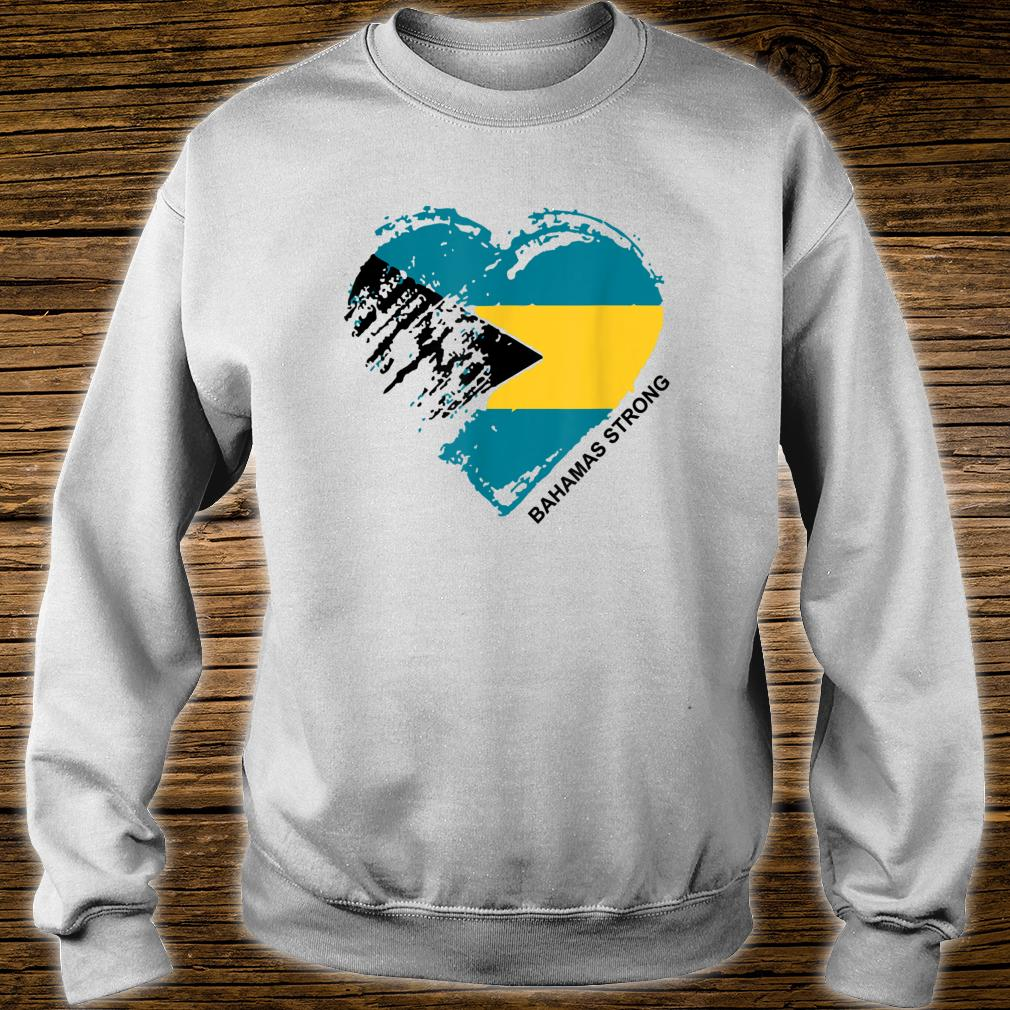 Heart for the Bahamas Strong Apparel Shirt sweater
