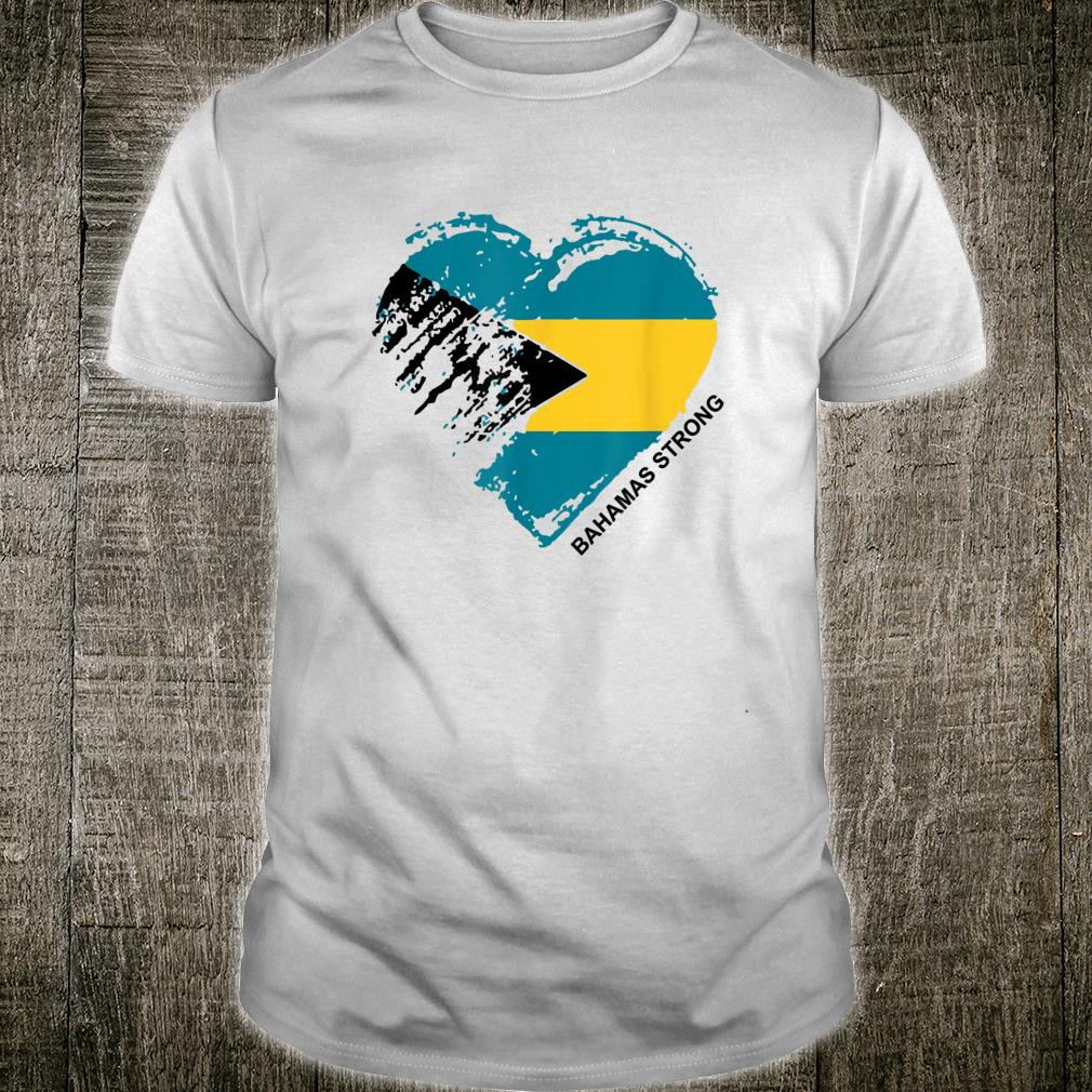 Heart for the Bahamas Strong Apparel Shirt