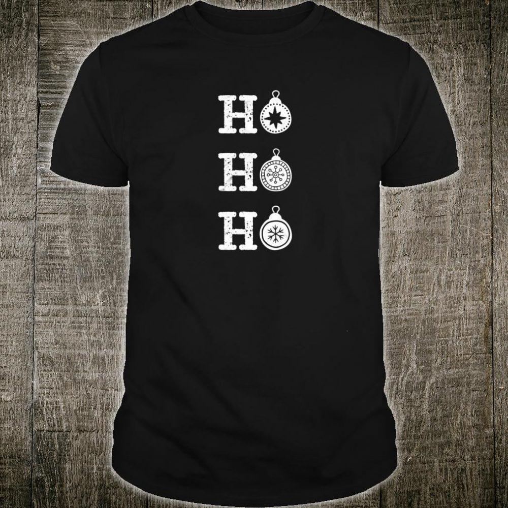 Ho Ho Ho Christmas shirt