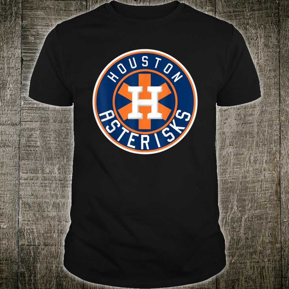 Houston Asterisks Baseball Sign Stealing Shirt
