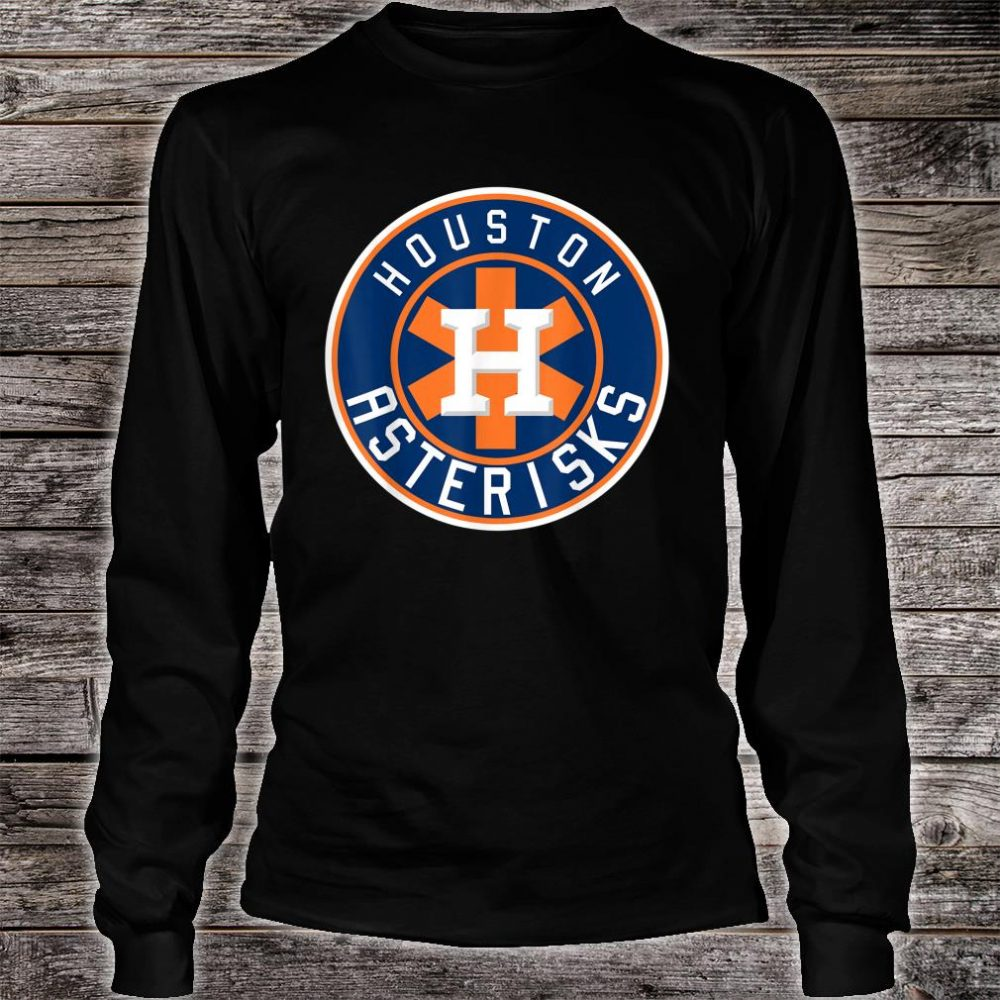 Houston Asterisks Baseball Sign Stealing Shirt long sleeved