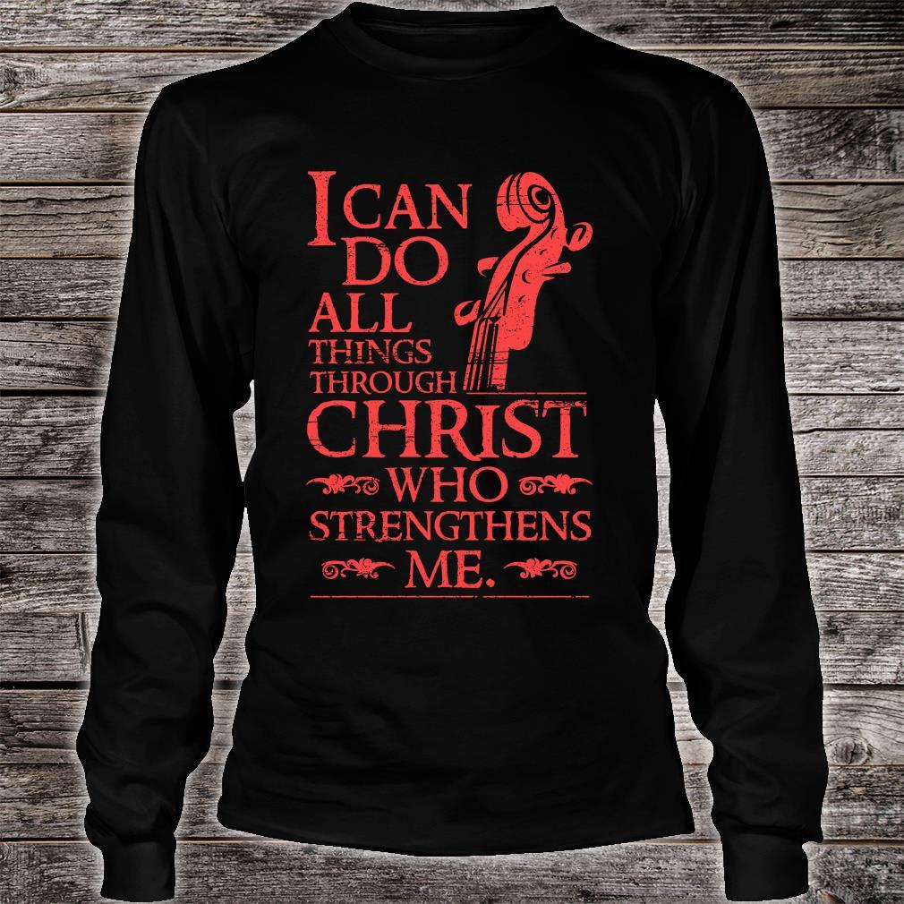 I Can Do All Things shirt long sleeved