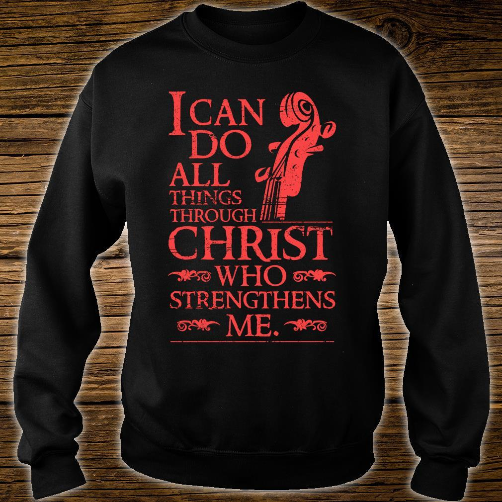 I Can Do All Things shirt sweater
