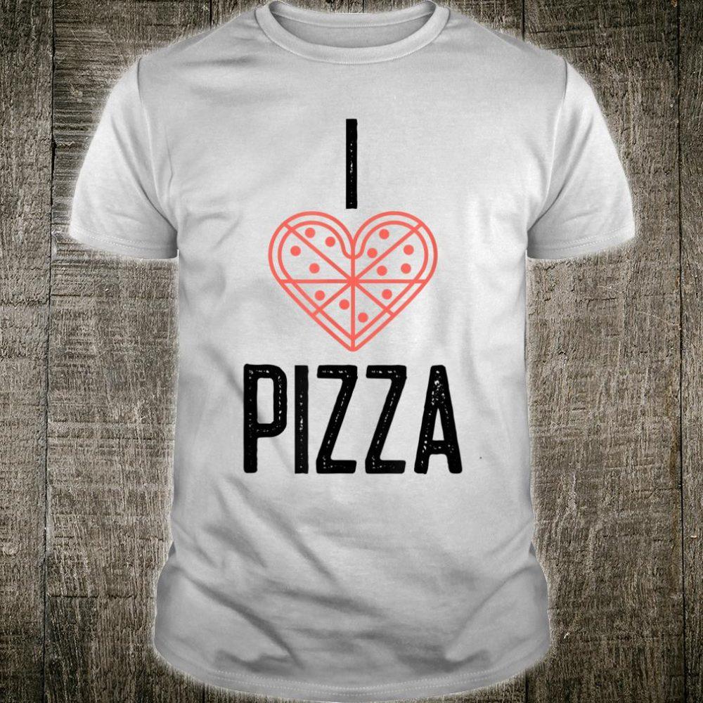 I Heart Pizza Shirt