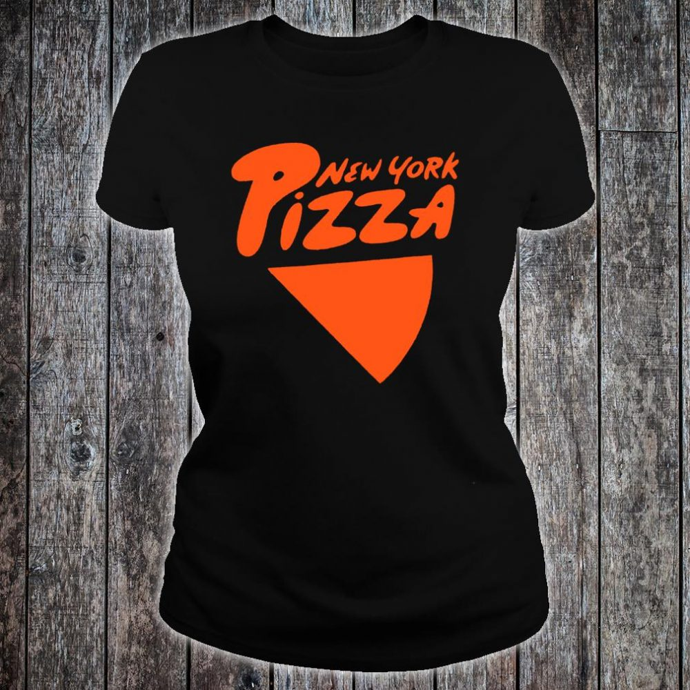 I Love NY New York Pizza Shirt ladies tee