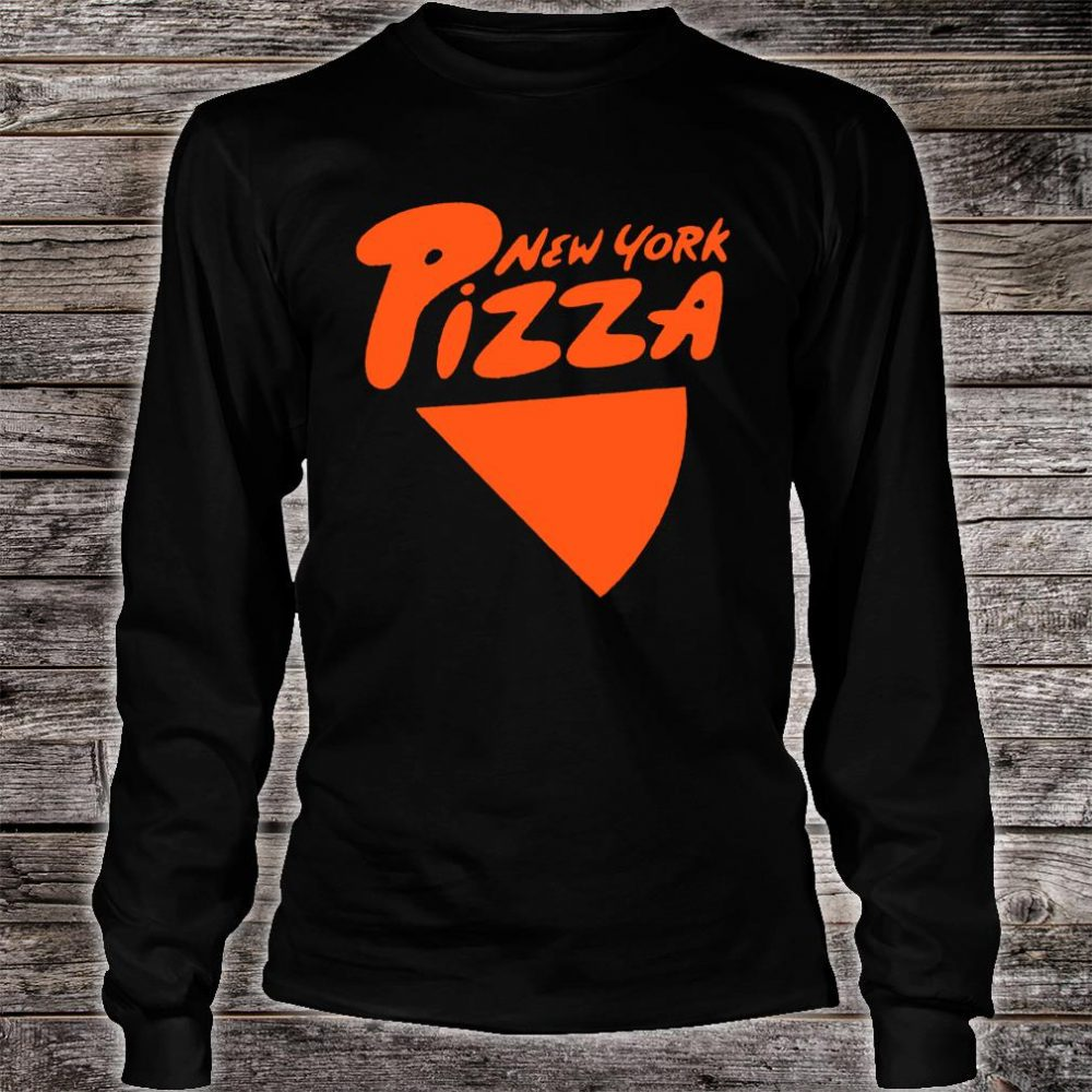 I Love NY New York Pizza Shirt long sleeved