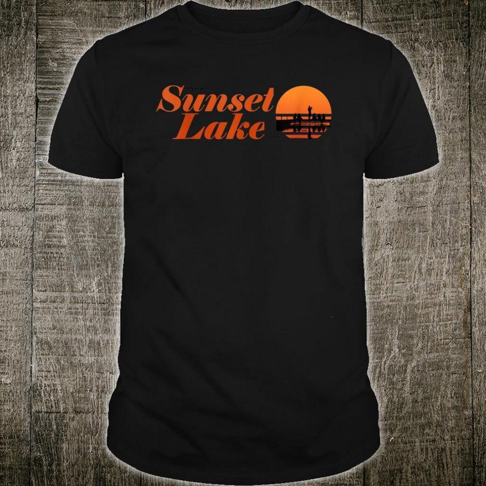 I Peed in Sunset lake Illinois Shirt