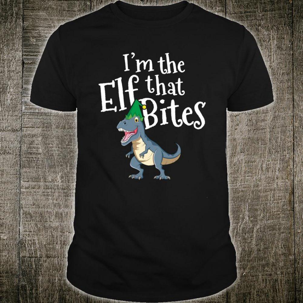 I'm The Elf That Bites T Rex Shirt